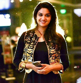 Keerthy Suresh in Black Dress