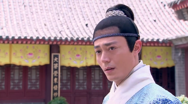 Wallace Huo in ep2 of popular cdrama Imperial Doctress