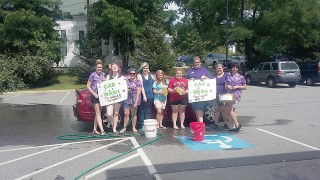 The Windham Eagle Lifestyles: Rainbow Girls clean cars to support ...