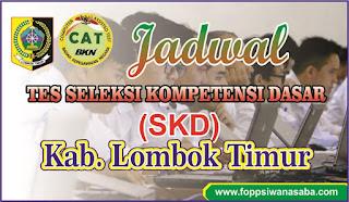 Jadwal Tes Seleksi Kompetensi Dasar (TKD) Kabupaten Lombok Timur