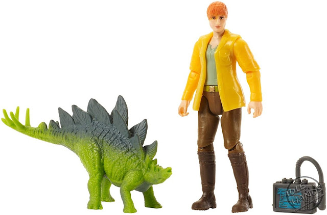 Mattel Jurassic World Toys Claire and Stegosaurus 01
