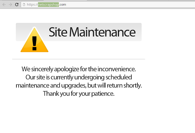 site maintenace we sicerely apologize for the inconvenience. our site is currently undergoing scheduled maintenance and upgrades, but will return shortly. thank you for your patience