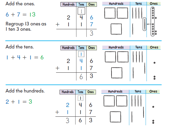 Number Names Worksheets 4 digit addition and subtraction : Math Next Week- 3-Digit Addition and Subtraction with Regrouping ...