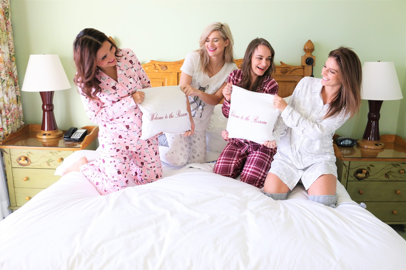 Bijuleni - 3 Things to Pack for a Girls Trip in the Fall - Cozy pjs for pillow fights - Friendship goals