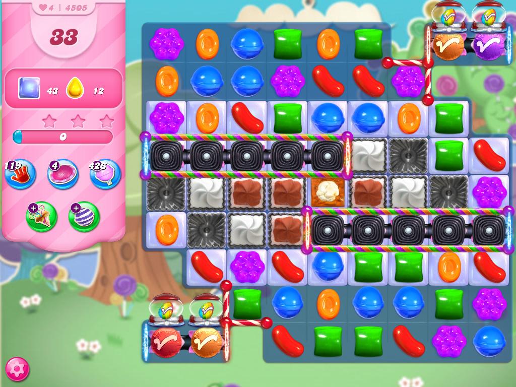 Candy Crush Saga level 4505