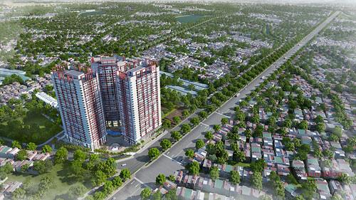 Phối cảnh dự án Imperial Plaza 360 Giải Phóng