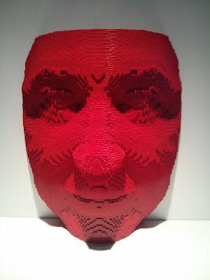 מסכת אדם במוזיאון הלגו גני התערוכה