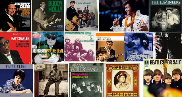 Seleção de músicas Country