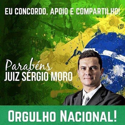 Resultado de imagem para sergio moro do brasil