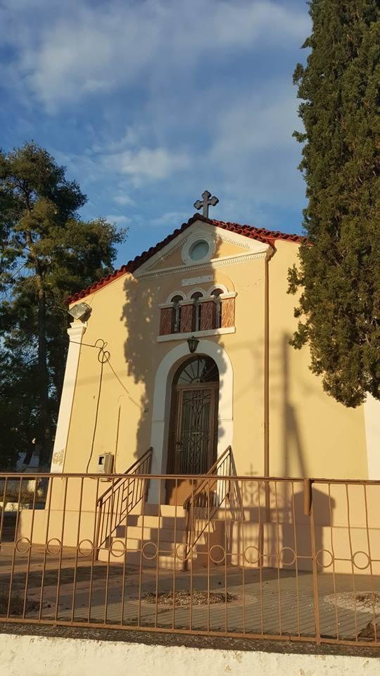 Εορτάζει ο Ιερός ναός Αγίας Τριάδος Άκοβας