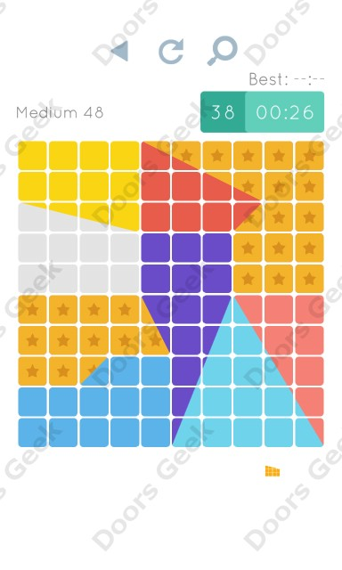 Cheats, Walkthrough for Blocks and Shapes Medium Level 48