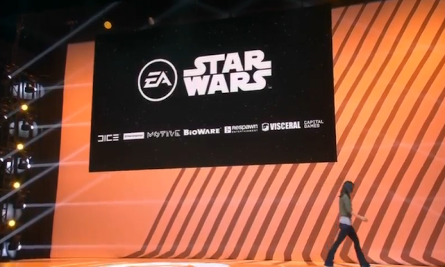 EA Electronic Arts Star Wars partnerships development studios DICE Motive BioWare Respawn Visceral Capital Games Jade Raymond