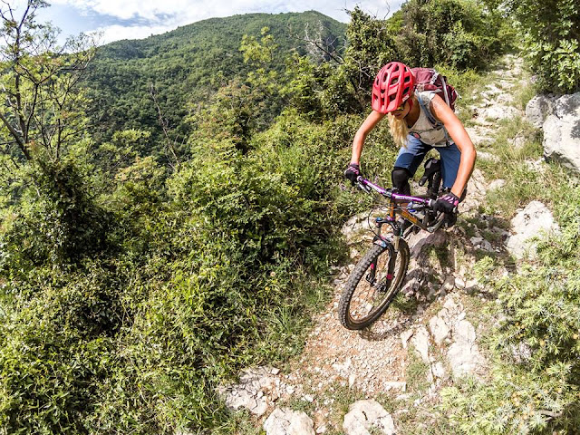 Mountainbike Touren Istrien Ucka MTB Bikebergsteigen