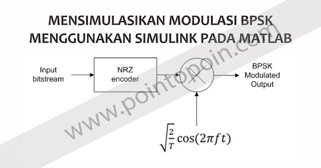 Mensimulasikan Modulasi BPSK Menggunakan Simulink Pada MATLAB