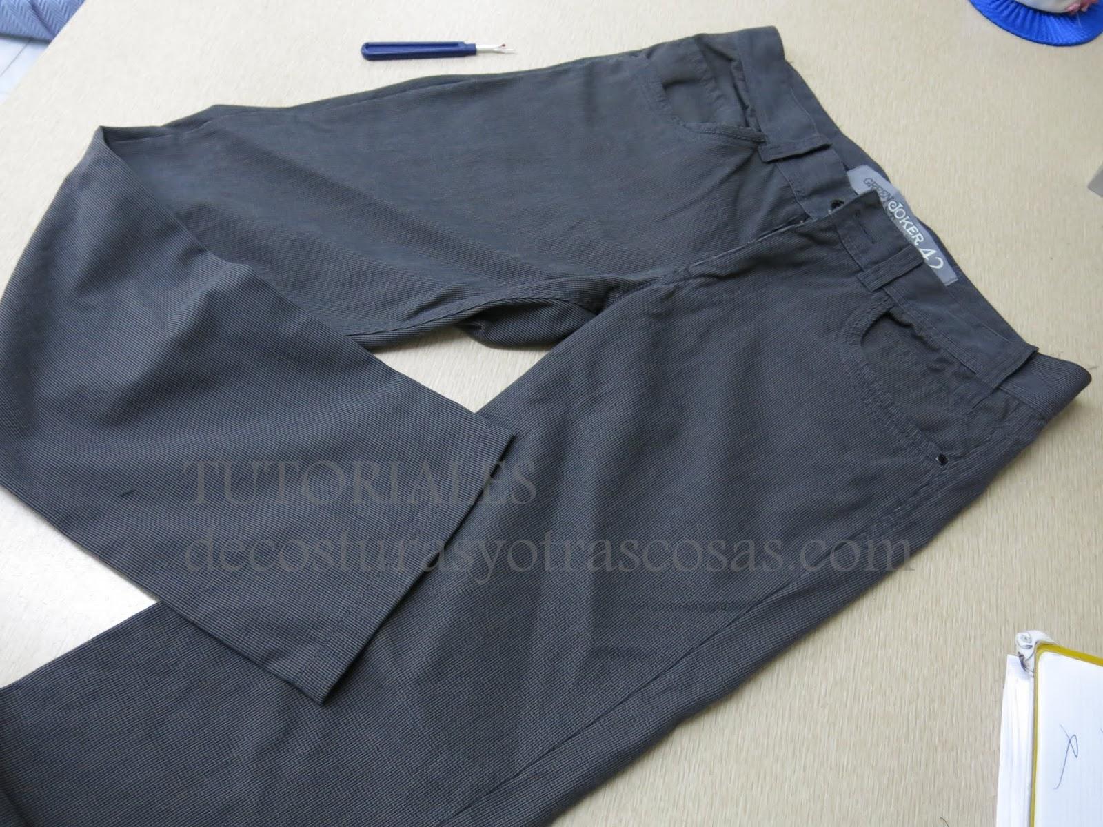 De Costuras Y Otras Cosas Como Adaptar Un Pantalon De Hombre Para Mujer