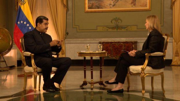 """Nicolás Maduro en entrevista con la BBC: """"El Ku Klux Klan que hoy gobierna la Casa Blanca quiere apoderarse de Venezuela"""""""