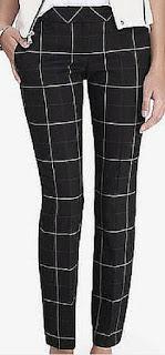 Sydney Fashion Hunter - The Monthly Wrap September 2015 - Black Windowpane Colomnist Ankle Pants