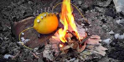 [Video] Begini Cara Mengasilkan Api Dari Sebuah Lemon