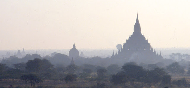 ancient architecture of Bagan Myanmar