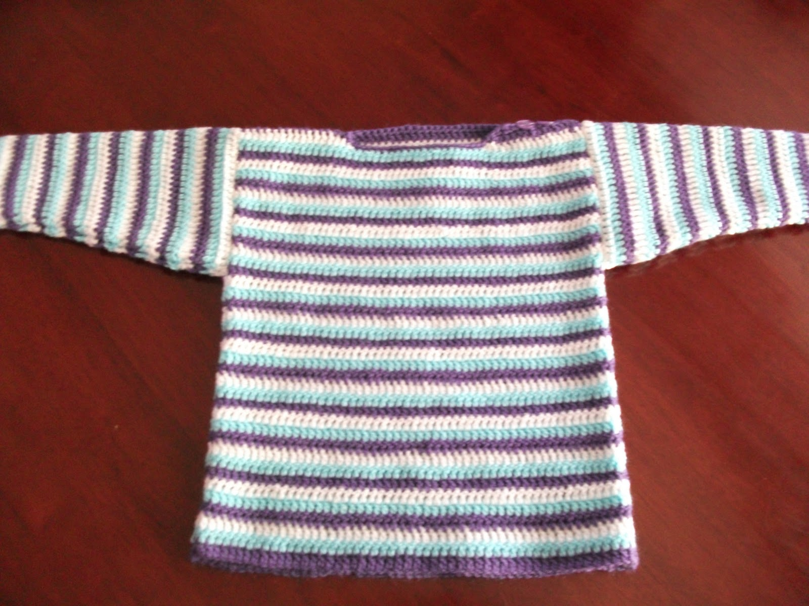 .Linda's Crafty Corner: Boat Neck sweater.