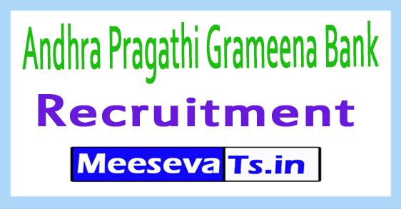 Andhra Pragathi Grameena Bank APGB Recruitment