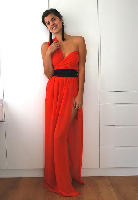 Diy Split Skirt Dress A Pair Amp A Spare