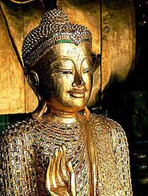 Buddha Buddhism northern Thai Style