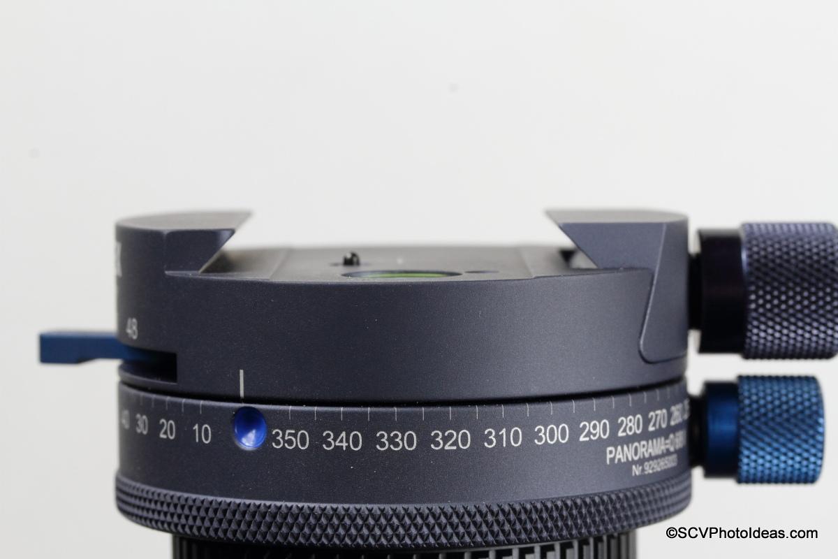 Novoflex Panorama=Q 6/8 II Q Mount dimensions