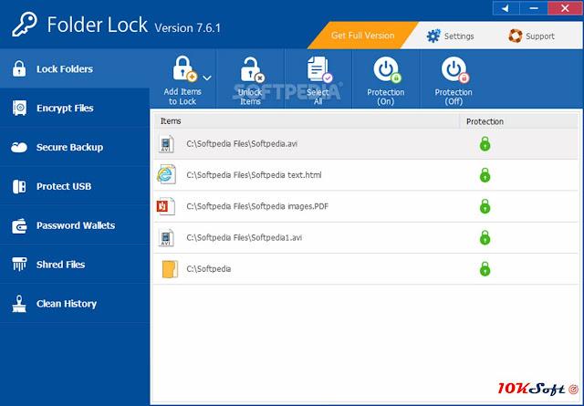 Folder Lock 7.7 Direct Download Link