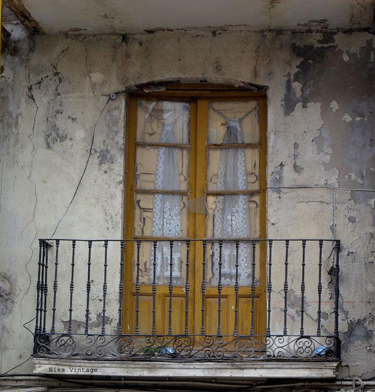 antiguo, viejo, balcon, ventana, sello, tampon, lacre, visor, view master, dibujos, fotografia