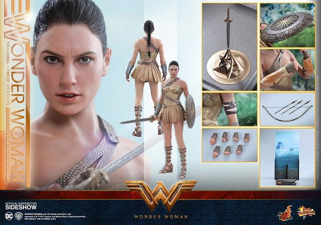 Hot Toys Wonder Woman Training Armor Ini Benar-benar Mirip Aslinya!