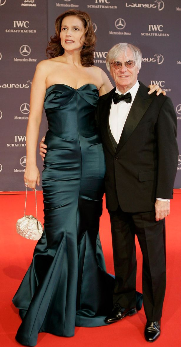 Bernie Ecclestone and Slavica Ecclestone  | Famous Celebrity Bible