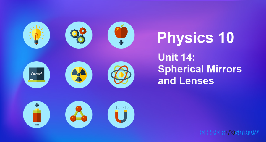 KIPS 10th Class Physics Notes Unit 14: Spherical Mirrors and Lenses
