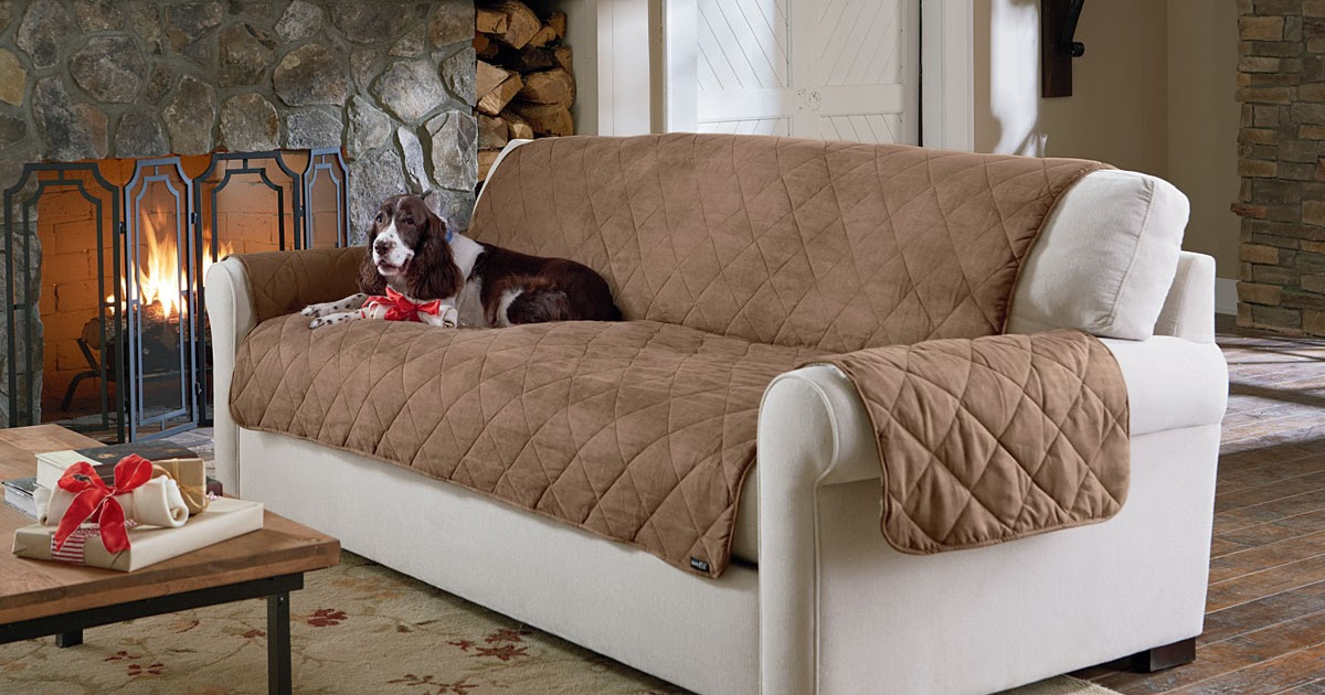 Sure Fit Slipcovers New Arrival Reversible Suede And