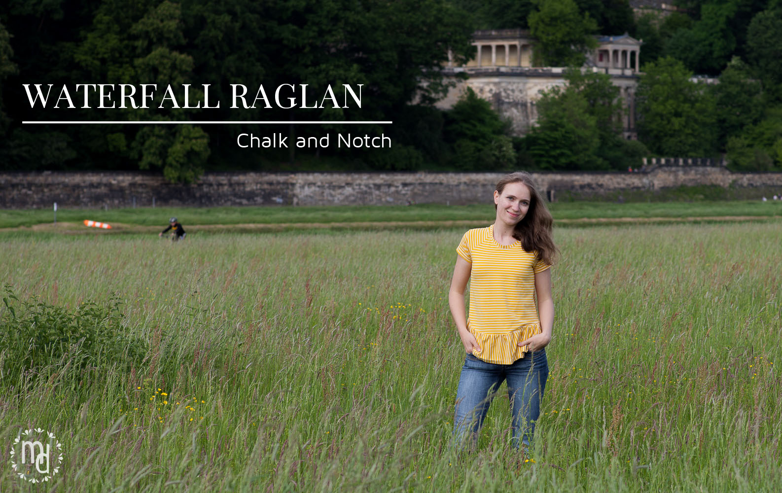 Waterfall Raglan by Chalk and Notch