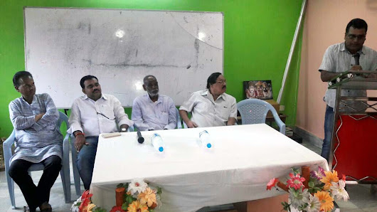 Nabarangpur Journalists stage dharana on 22nd Sept.