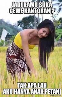 gambar petani cantik