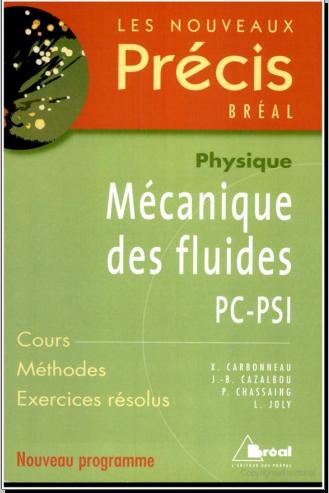 Livre : Précis - Mécanique des fluides PC-PSI