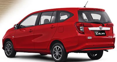 Toyota Calya Mini MPV reart look image