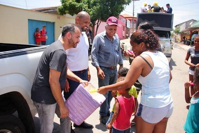 Ações em prol do dia das crianças movimentam Senador Canedo