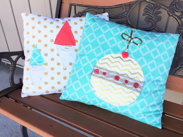 Gnome and Ornament FMA Pillow Shams