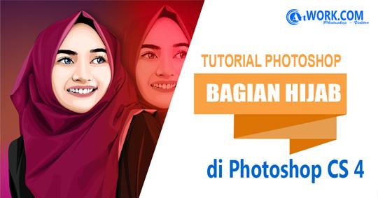 Adobe Photoshop CS4 : Tutorial Vector Membuat Kerangka Hijab