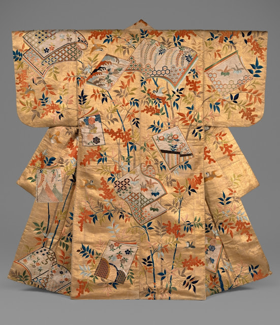 Embroidered Noh costume, second half of the 18th century