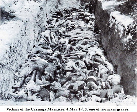 Communist University: Massacre at Cassinga. War no more.