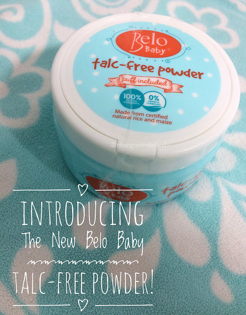 Introducing The New Belo Baby Talc-Free Powder