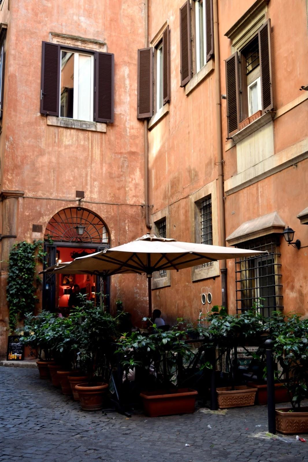 hidden restaurant rome