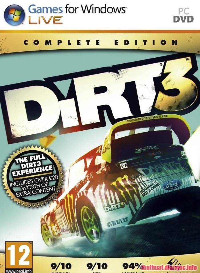 Download Game DiRT 3 – Complete Edition Full crack