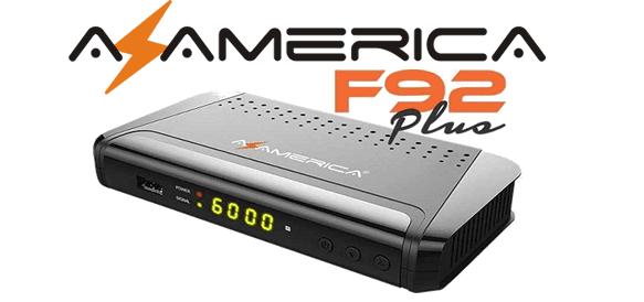 Atualização Azamerica F92 Plus 02/01/2019 V1.10