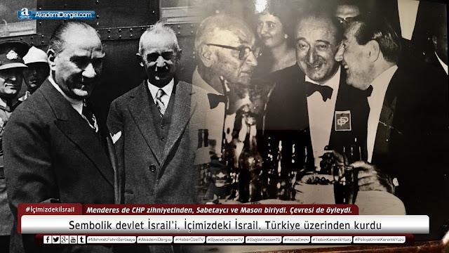 akademi dergisi, Mehmet Fahri Sertkaya, sabetaycılar, gizli yahudiler, israil, masonlar, Adnan Menderes, siyonistler, demokrat parti, Haçlı Seferleri, bilinmeyen gerçekler, akp'nin gerçek yüzü,