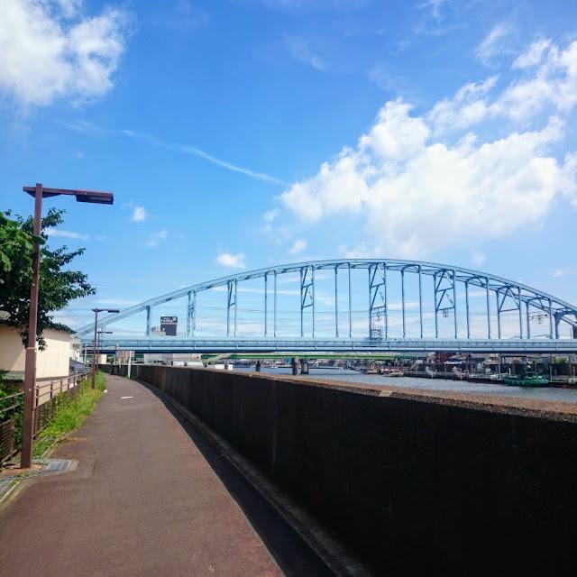 旧江戸川 東西線橋梁